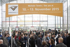 productronica-2013-eingang-west