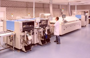 Yamaha Line at A1 Electronics Netherlands bv in Almelo