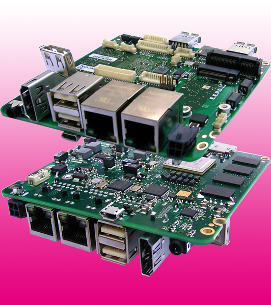 Embedded-NUC Single-Board-Computer mit NXP-i.MX6-Prozessor