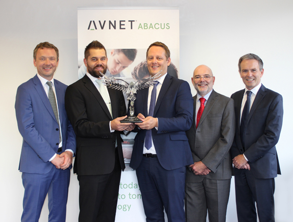 "Avnet Abacus ist ""European Distributor of the Year"""